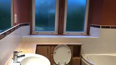 We've been asked to replace this wonderful bathroom that we fitted in 2004.  14 years ago, still looks great.